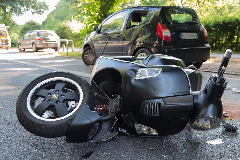 Motorfiets schadeherstel